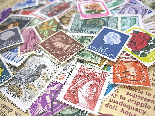 ★5000円以上用★外国切手20枚相当 [無料プレゼント]